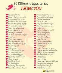 You Re The Light Of My Life Ways To Say I Love You Archives Esl Buzz