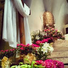 Easter Decorations Catholic Church by 82 Best Easter Images On Pinterest Altar Decorations Church
