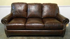 leather sofa conditioner living room dark brown leather sofa with arm and back also nails