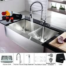 Kitchen Faucet Soap Dispenser Chrome Kraus Soap Lotion Dispensers Kitchen Faucets The Kraus Soap