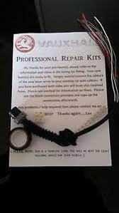 vauxhall opel zafira b rear door wiring harness repair kit