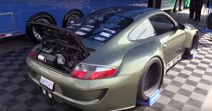 porsche boxster widebody porsche 911 with ls3 v8 and wide body kit looks like a at
