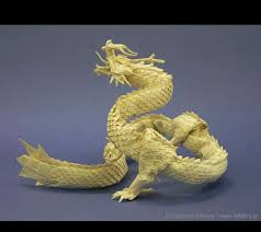 paper dragons intricate paper dragons satoshi kamiya makes detailed origami