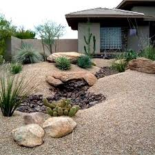 Arizona Landscaping Ideas by Desert Landscaping Ideas For Front Yard Outdoors Home Ideas