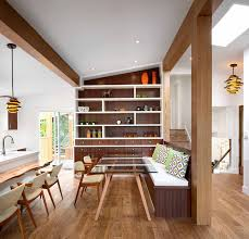 How To Make A Banquette Bench Dining Room Design Idea Use Built In Banquette Seating To Save