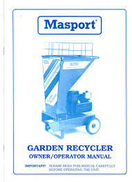 masport 5hp belt drive chipper shredder rebuild outdoorking