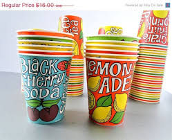 dixie cups vintage dixie cups paper cups 1970s by twovagabondsvintage