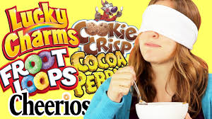 Can Blind People See The Taste Of Cinnamon Toast Crunch Cereal Taste Test Name Brand Or Knockoff Youtube