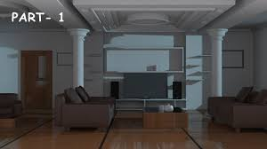 3d Max Home Design Tutorial by Interior Modeling 3ds Max Tutorial 2015 Youtube