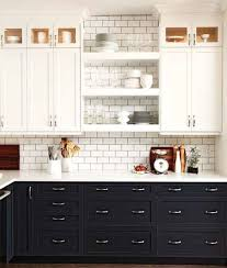 what color kitchen cabinets stay in style black lowers white uppers in kitchen kitchen trends