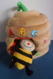 melissa and doug k u0027s kids musical pull beehive plush musical crib
