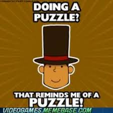 Professor Layton Meme - professor layton know your meme