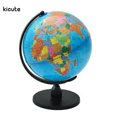 Bookcase Shop Newest 25cm World Globe Map With Swivel Stand Map Of Earth