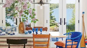 coastal dining room table beach house dining rooms coastal living
