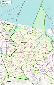 Map Of Virginia Beach by Richmond Sunlight Senator Frank Wagner R Virginia Beach