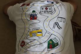 Back Road Maps Playing House Father U0027s Day Back Rub Road Map Shirt