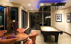 floor and decor credit card game room floor plans ideas contemporary style billiards room view