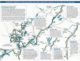 Beaver Lake Map Adirondack Paddling Lake Placid Adirondacks