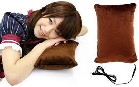 Electric Heated Cushion Japan Trend Shop Thanko Usb Warmer Heated Pillow