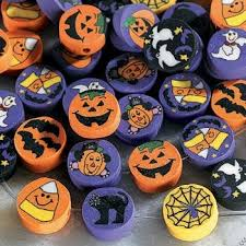 halloween fimo beads