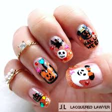 disney halloween nail art blog disney halloween and art blog