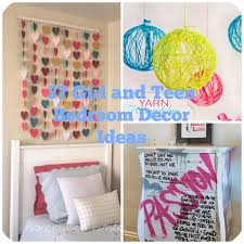 DIY Ideas For Teenage Girls Room Decor - Diy decorating ideas for bedrooms