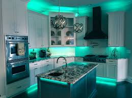 full color led accent lighting great for kitchens and man caves by