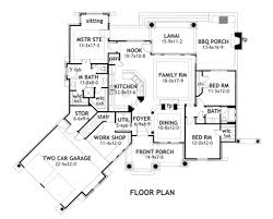 Two Car Garage Floor Plans by Craftsman Style House Plan 3 Beds 2 Baths 1848 Sq Ft Plan 120