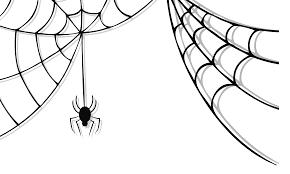 spider web halloween clipart clipartxtras