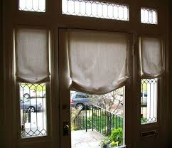 Curtains For Front Door Window Captivating Curtains Drapes And Blinds For A Glass Front Door Of
