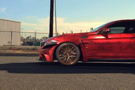 red bmw m4 bmw m4 savini wheels