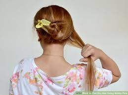 make loom band hair pins how to curl dry hair using bobby pins 14 steps with pictures