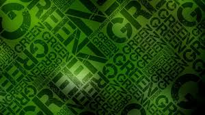 download wallpaper 1920x1080 green black lettering wall