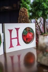 ho ho ho christmas decor the navage patch