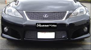 lexus chrome lexus is f upper grille