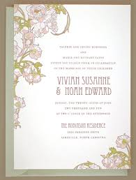 nouveau peonies wedding invitations invitation crush
