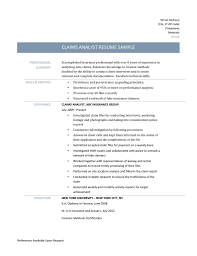 resume for budget analyst example