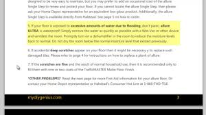 How To Clean Trafficmaster Laminate Flooring Allure Ultra Flooring Cleaning And Maintenance Instructions