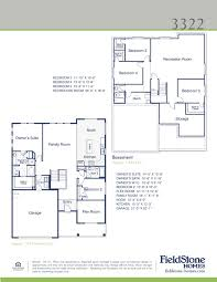 fresh fieldstone homes floor plans new home plans design