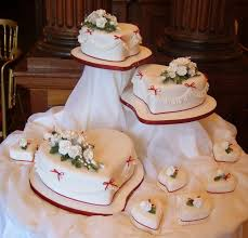 heart shaped wedding cakes heart shaped lovely cakes for wedding reception weddceremony