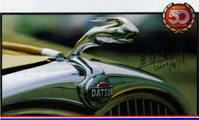 datsun s leaping hare ornament wishes you a prosperous year