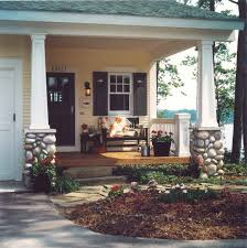 craftsman style porch porch craftsman with trellis faux stone