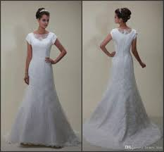 discount 2015 modest wedding dress sweetheart neckline with lace