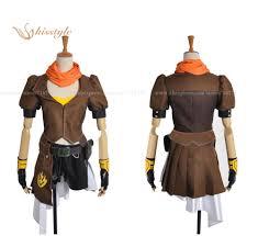 aliexpress yang kisstyle fashion rwby yellow trailer yang xiao long cosplay costume