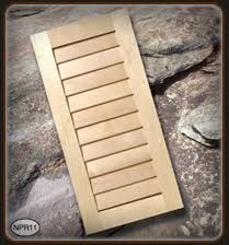louvered cabinet doors walzcraft