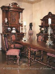 Vintage Dining Room Furniture Antique Renaissance Style Dining Room To Most Of Us Antique