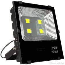 Waterproof Outdoor Lighting Fixtures White 200w Led Flood Lights Ac 110 240v Outdoor Lighting