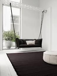 canapé suspendu design d intérieur aménagement intérieur amusant canapé suspendu