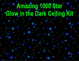 glow in ceiling star kit 1000 amazingly realistic no