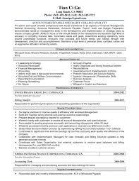 accounts receivable clerk cover letter